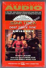 """TWO CASSETTE SET """"Emissary"""" Read by Star Trek DS9's NANA VISITOR (Kira) - NEW!"""
