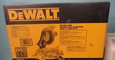 "New DeWalt DW715 12"" Single Bevel Compound Miter Saw 15 amp New in Box"
