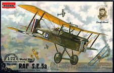 RAF SE 5A (MANNOCK, BISHOP, CLAXTON - RAF ACES MARKINGS ) 1/72 RODEN