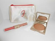 Jabot Glow Ever After Bronzer COPPER KISS/DARK &  Lip gloss SOUTH BEACH CORAL