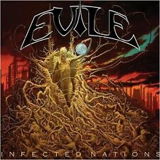 EVILE - Infected Nations  [Ltd.CD+DVD] DCD