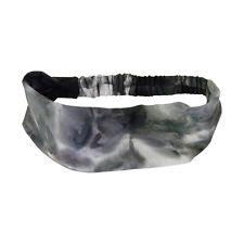 Soft Wide Tie Dye Print Headband 3 inch Hair Wrap Women's Yoga Headwrap!