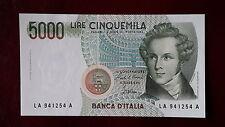 5000 lire del 31/01/1985 V. Bellini qfds