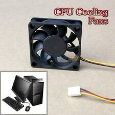 60mm 12V Internal Tower Desktop Cooling Cooler Fan Computer PC CPU Case Quiet #y