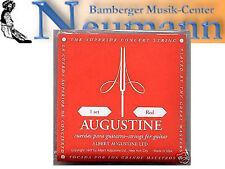 Rojo Set Konzert Guitarra Cadenas Acordes String Augustine medio tensión