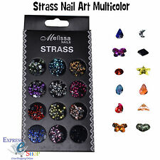 STRASS DECORAZIONI PER UNGHIE NAIL ART GLITTER BRILLANTINI MICROPERLE