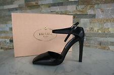 PRADA Slingpumps Gr 40 Pumps Slingbacks Schuhe nero black Shoes NEU UVP 550€