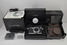 FUJIFILM FinePix X Series X100 12.3 MP Digital Camera Silver with Box #170117d