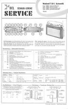 ITT/Schaub-Lorenz/Graetz Service Manual für Weekend T 50 automatic