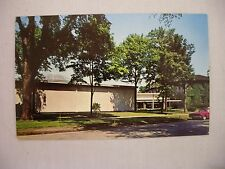 VINTAGE PHOTO POSTCARD OF T. R. W. AUTO & AVIATION MUSEUM IN CLEVELAND, OHIO