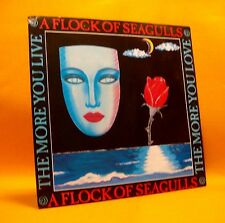 "Vinyl 7"" Single 45 A Flock Of Seagulls The More You Live...  2TR 1984 (MINT) !"
