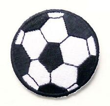 CUTE Football Iron / Sew On Embroidered Patch