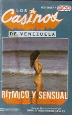 Los Casinos De Venezuela Ritmico y Sensual Cassette New Sealed