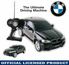 LICENSED 1:14 BLACK BMW X6 Electric RC Radio Remote Control Car Kid Child Toy