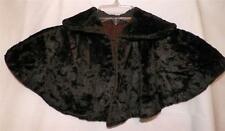 Victorian Childs Fur Cape Capelet Dark Brown Antique Scarce Some Wear