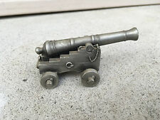 Vintage Toy Model Cannon Cast Pewter by Hudson Damaged
