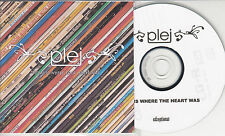 PLEJ Home Is Where The Heart Was 2008 UK 9-track promo test CD