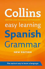 Easy Learning Spanish Grammar (Collins Easy L..., Collins Dictionaries Paperback