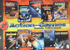 10 pc dos collectionneur morceaux old school shooter raiden 1 + 2 Darius, etc. en OVP