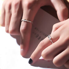 Platinum Plated Copper Rings Bamboo Joint Opening Rings Simple Creative Gift