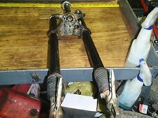 Harley hummer 1966 175 cc BTH Bobcat front fork tubes/lower steering stem