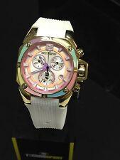 TechnoSport TS-100-S38G  Women's Dreamline Gold Swiss Chrono Watch