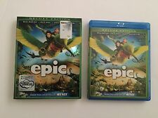 Epic (3D+Blu-ray+DVD)+ RARE OOP SLIPCOVER -DELUXE COLLECTIBLE EDITION