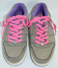 Kikkor Eppik 2.0 Breathe Gray/Purple Golf Shoes Pink Laces Men's Size 8