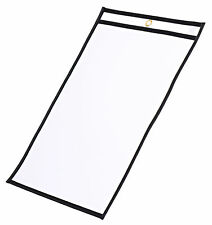 """Job Shop Ticket Holders / Dry Erase Pockets 9""""x12"""", 25 count by Reflection 503"""