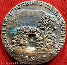 MED2779 - MEDAILLE D'HONNEUR DE LA COMMUNE D'  USSAT - FRENCH MEDAL