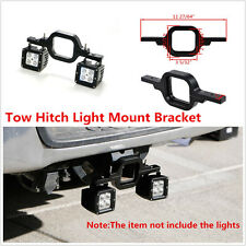 1×Tow Hitch Light Mounting Bracket Dual Reverse Rear Work Light For Off-Road 4x4