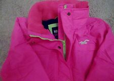 Hollister by Abercrombie All-Weather Jacket HOT PINK (Size: S)