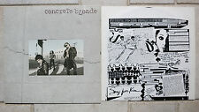 Concrete bionda – concrete bionda VINILE LP + OIS IRS Records – Holland