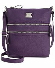 Style & Co Veronica Crossbody Shoulder Bag Purse Handbag Purple MSRP $62.50