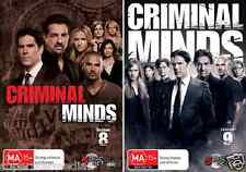 Criminal Minds Season 8 & 9 : NEW DVD