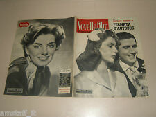 SYLVA KOSCINA=CARLO GIUFFRE=STEPHANIE DENISE GRIFFIN=COVER MAGAZINE=1956/466