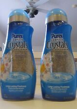 2 Purex Complete Crystals Softener Fresh Spring Waters 28 OZ 32 Loads
