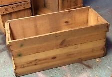 "Vintage Wooden Shipping Box Crate Shelf Box Storage Home Decor 30"" x 13"" x 13"""