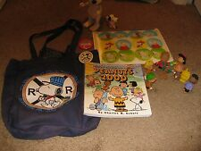 Huge Lot of Peanuts Snoopy Items Toys & More