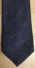 Gents Smart Tailored Wool Blend Slim Tie Hunting Fieldsports Purple Heather