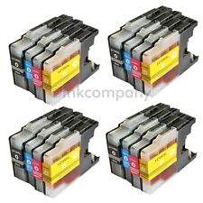 16 Brother Patronen LC1240 XL Tinte Brother MFC-J825DW MFC-J835DW MFC-J6510DW