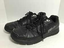 Fila Men's Walking Shoe Black Size 13 Preowned In Great Shape! 042416