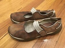 Colorado Flats Leather Shoes Size 8 Brown  Walking Work Casual Good Condition