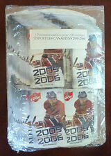 2005-06 Molson Export NHL Montreal Canadiens 100 Schedules and 1 Display Pack