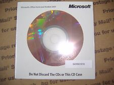 Microsoft Office 2007 Home and Student Full English Version =BRAND NEW SEALED=