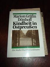 Kindheit in Ostpreußen,Gräfin Dönhoff,1991,mit Zeitungsausschnitten,Bild.s.Text