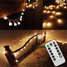 [Updated Version] Bedroom Wedding 17 Feet 50leds LED Globe String Lights Battery