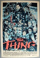 THE THING - RARE 2008 MONDO SIGNED LIMITED EDITION SCREEN PRINT BY TYLER STOUT