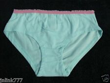 "A35:New No Boundaries Boyleg Panty from USA-Medium-27"" to 29""-Aqua"