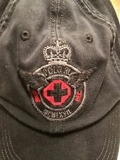 NWT RALPH LAUREN POLO CREST CAP VINTAGE STYLE DISTRESSED HAT PWING 1992
